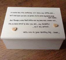 Shabby Personalised Chic Jewellery Box Mother Of The Bride Gift For Her Daughter